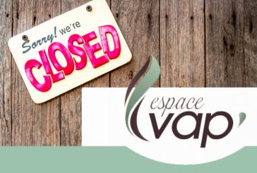 ECONOMY: Clap de fin for Espace Vap ', an e-cigarette shop that will go down in history!