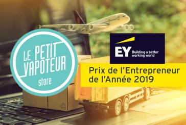 ECONOMY: French e-cigarette leader, Le Petit Vapoteur is a candidate for the EY Ouest Entrepreneur Award!