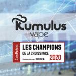 "ECONOMIA: Kumulus Vape nella lista di ""Champions of Growth 2020""!"