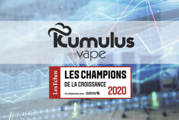 """ECONOMY: Kumulus Vape in the list of """"Growth Champions 2020""""!"""