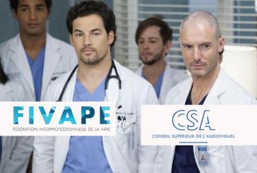 """AZIENDA: La serie """"Grey's Anatomy"""" è stata denunciata al CSA per un episodio di """"anti-svapo"""""""