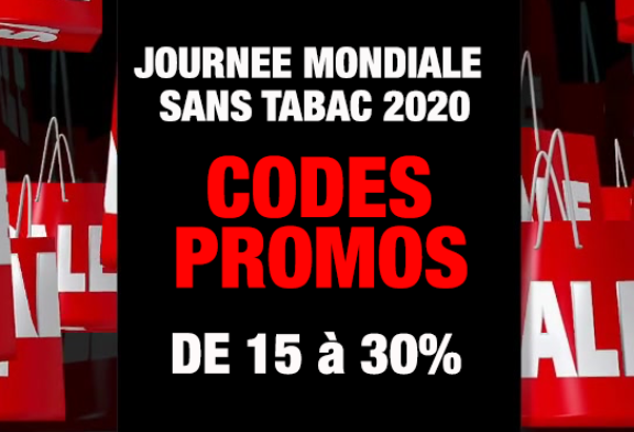 PROMOS: From 15% to 30% reduction on the vape, take the opportunity to stop smoking!