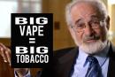 STATI UNITI: Per Stanton Glantz, Big Tobacco sta attualmente assumendo il controllo dello svapo.