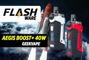 FLASHWARE : Aegis Boost Plus 40W (Geekvape)