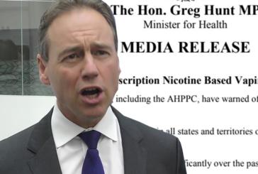 AUSTRALIA: il Ministero della Salute tiene conto dello svapo nel smettere di fumare