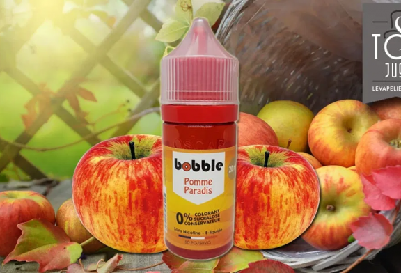REVIEW / TEST: Pomme Paradis (Fruity Range) by Bobble